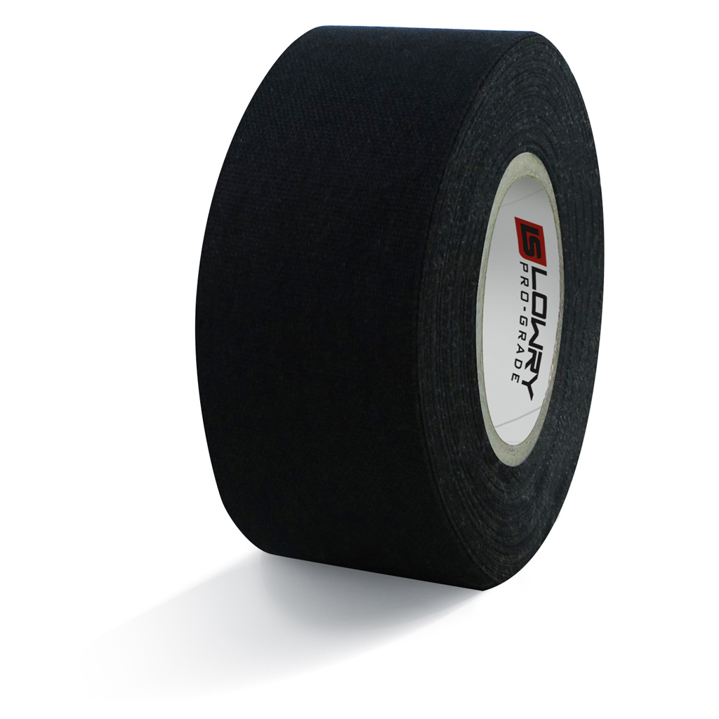 Pro Grade Hockey Tape Black 269 30MMx12M 6 108/CS