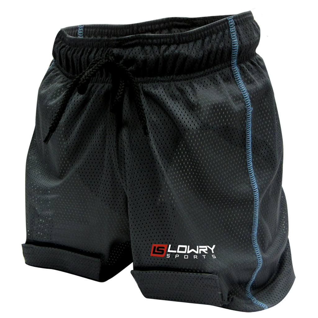 "Mesh Jill Short w/Cup Black/Powder L444LM Women's Medium 28"" - 30"""