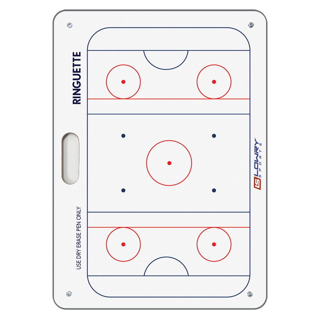"Coaches Board Ringette White PS21 16""x24"""