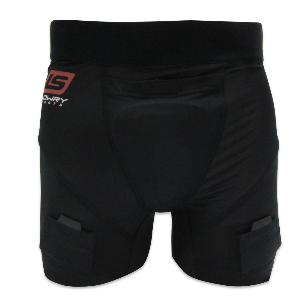 "Compression Jill Short w/Cup Black L333LXL Women's XL 34"" - 36"""
