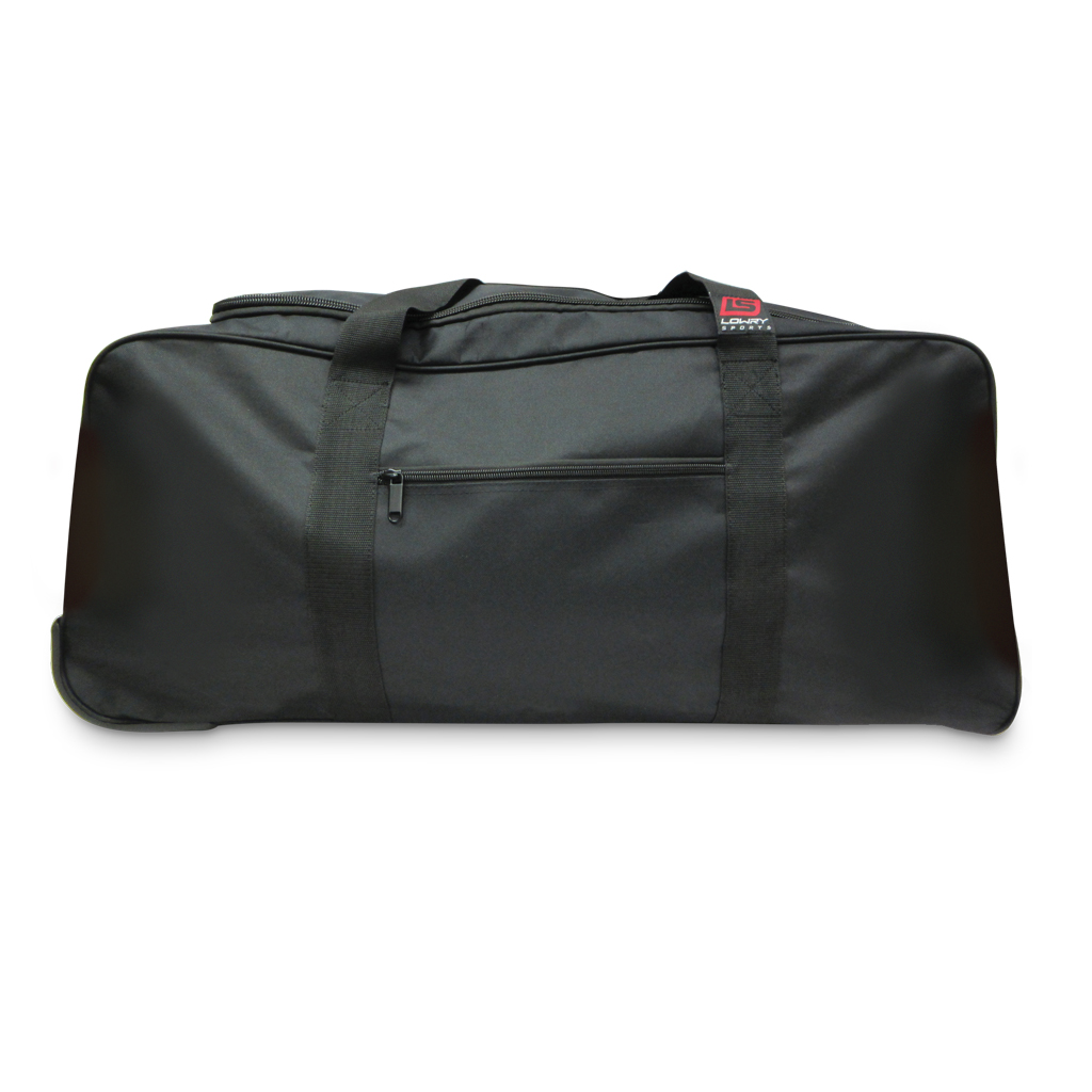 "Wheeled Nylon Duffle Bag Black WDB28 28""x 13"" x 13"""