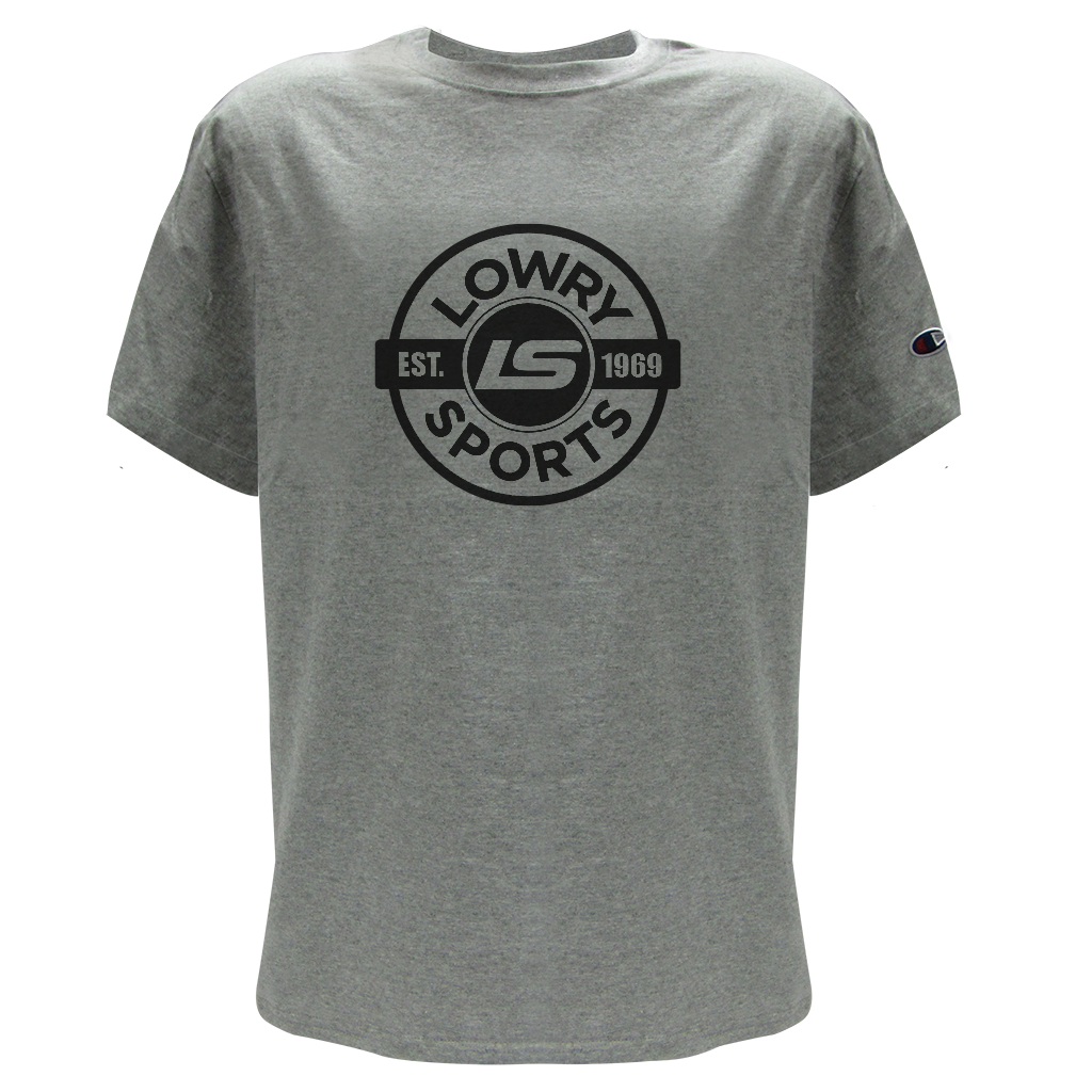 Lowry Tee - EST. 69 Grey LTESTM-15 Medium