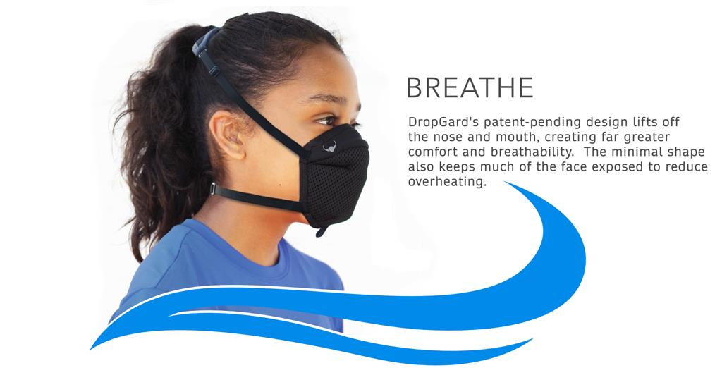 Dropgard Sport Mask Black A-DG-MSK Small
