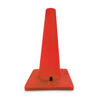 "Sport Cone Weighted Orange - Orange base 45W 18"" 20/Bulk"