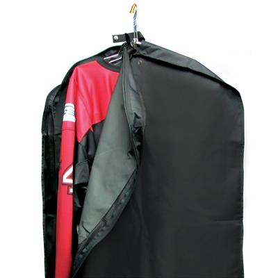 "Team (1-Set) Garment Bag With Mesh Venting Black C434 46""x27""x6"""