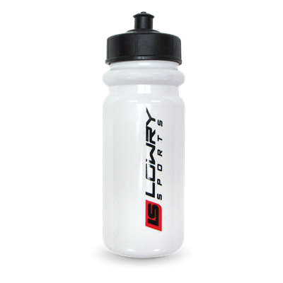 Water Bottle with Pop Top White FI-5070 600ML 60/CS