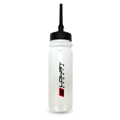 Water Bottle with 3 inch Extended Tip White FI-5080XT 850ML 54/CS