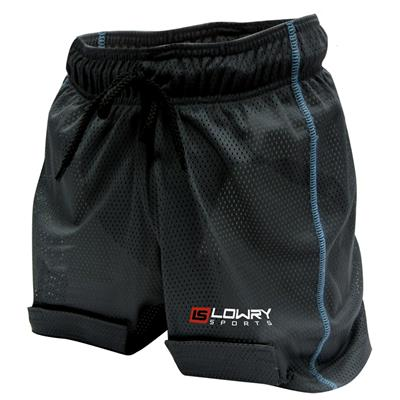 "Mesh Jill Short w/Cup Black/Powder L444GS Girls Small 18"" - 20"""