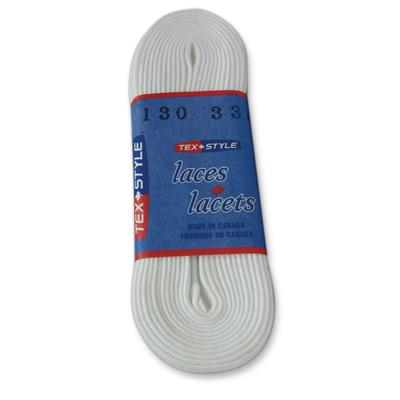 "PREMIUM FIGURE SKATE LACES WHITE 92F 63"" 24"