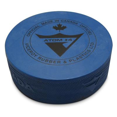 Puck Official Atom Blue 401 4 OZ. 100/CS