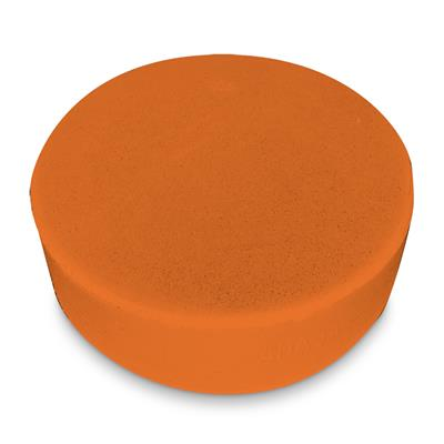 Sponge Puck High Visibility Orange 581B 100/CS