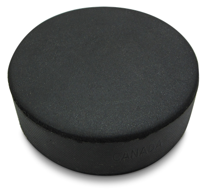 Soft Sponge Puck Black B581B 100/CS