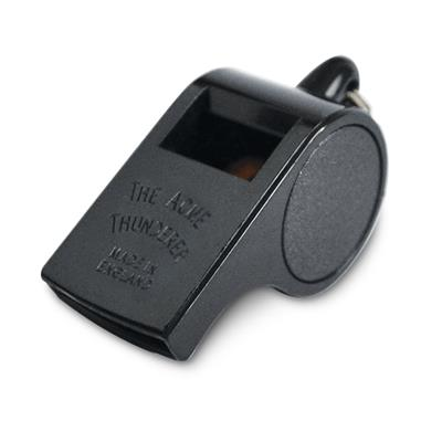 Coaches Whistle Square Mouth Black W558 Large 12/CS