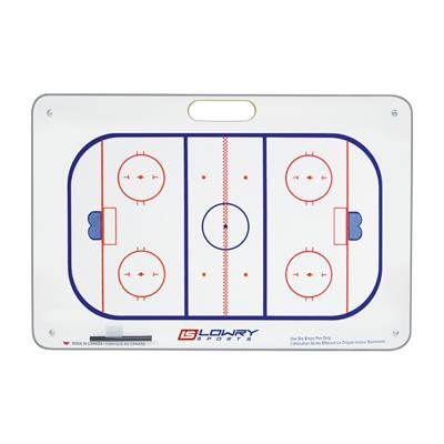 "Coaches Board Hockey with Suction Cups 2 Colour PS16 16""x24"""
