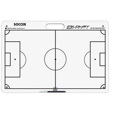 "Coaches Board Outdoor Soccer White PS26 16""x24"""