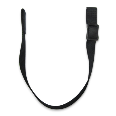 "Chin Strap Floater Style Black CHINF-01 14.5"" 6/Pack"