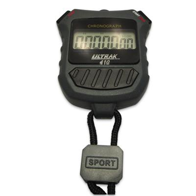 7 Digit Stopwatch Water Resistant Black 410SW 1 /Pack
