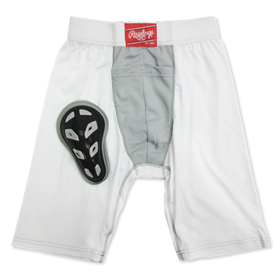 "Rawlings Compression Jock Short w/Cup RG738YS Youth Small 18"" - 20"""