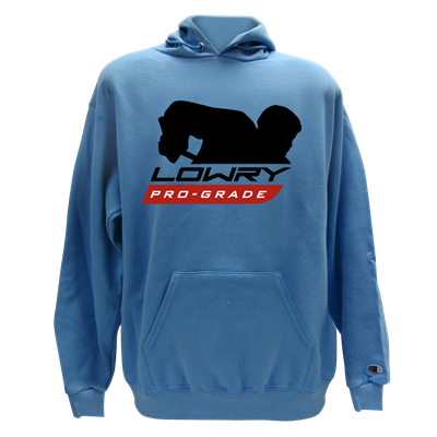 Pro Player Hoodie Columbia Blue LHPPL-25 Large