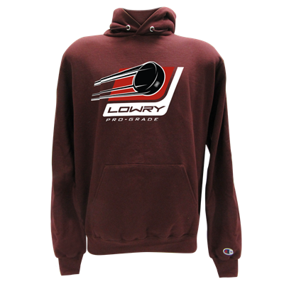 Stick & Puck Hoodie Maroon LHSPS-21 Small