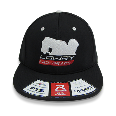 Pro Player Cap Black LCPP20-01 Flex-Fit