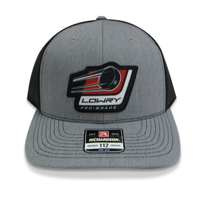 Stick & Puck Cap Grey/Black LCSP112-141 Snap Back