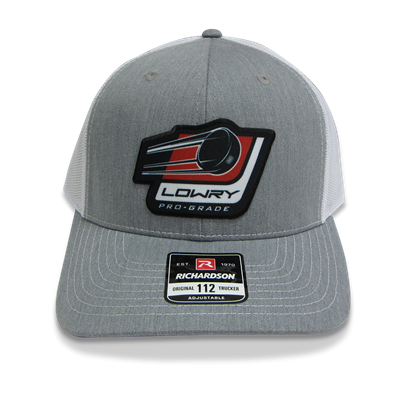 Stick & Puck Cap Grey/White LCSP112-145 Snap Back
