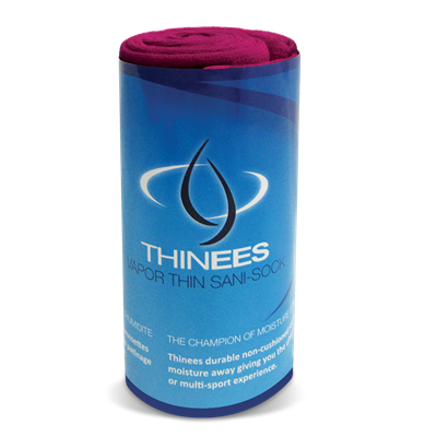 Thinees Skate Sock - Fuschia THINFL Long