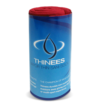 Thinees Skate Sock - Red THINRM Mini