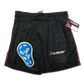"Mesh Jock Short w/Pro Tapered Cup - Black/Red L443AS Adult Small 28"" - 30"""
