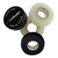 Tape Wax Prepak W/ 1roll Black 24mmX18M - 2 rolls Clear 24mmx25M TWPP-01