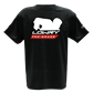Lowry Tee - Pro Player Black LTPPS-01 Small