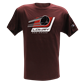 Stick & Puck Tee Maroon LTSPS-21 Small