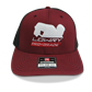 Pro Player Cap Cardinal/Black LCPP112-12 Snap Back